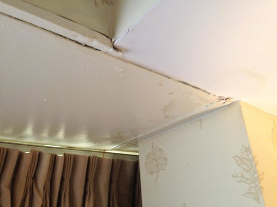 Doral Arrowwood: Water damaged ceiling, room 140
