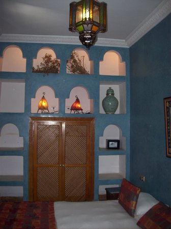 Riad Kenzo : our room on the first floor