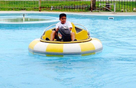 The Track Family Recreation Center : Having fun