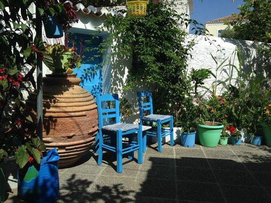 Villa Marina: Garden for breakfast or lunch