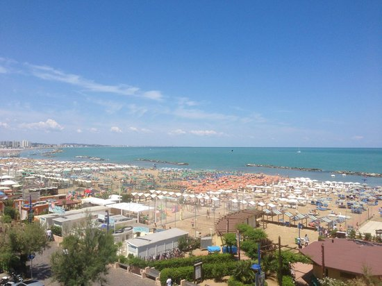 Park Hotel Cattolica: view from room