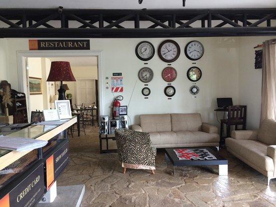 Hotel Luisiana: At the reception