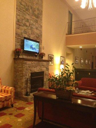 Hampton Inn White House: lobby