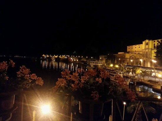 Hotel Sole Relax & Panorama: di notte dal terrazzo
