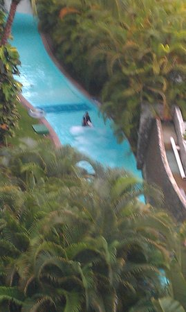 Mayan Palace Nuevo Vallarta: lazy river without tubes to float on
