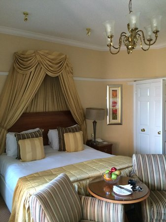 Victoria Hotel: This was our room