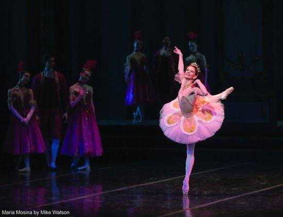 """Colorado Ballet: Maria Mosina in """"Cinderella,"""" photo by Mike Watson"""