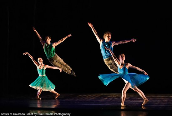 "Artists of Colorado Ballet in ""The Last Beat,"" photo by Sue Daniels Photography"