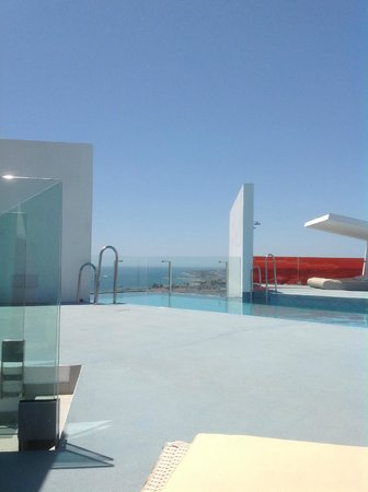 DoubleTree by Hilton Hotel Resort & Spa Reserva del Higueron : Infinity pool
