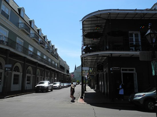 Bourbon Orleans Hotel : View from Bourbon Street