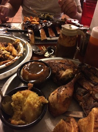 Shiver's Bar-B-Q: Every thing was perfect!