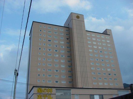 Beppu Kamenoi Hotel : こりらが別府駅方向からの外観です。