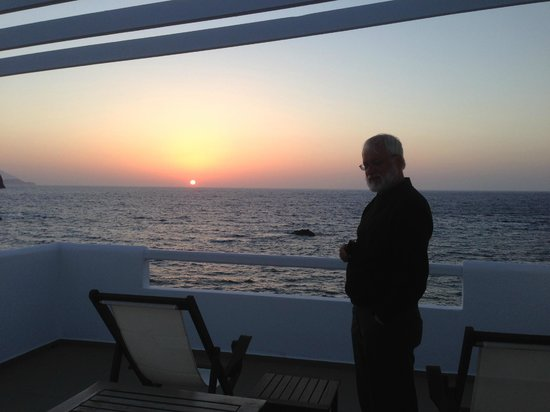 Tania Milos: Great sunsets, better than Santorini