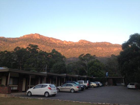 Halls Gap Motel: sunrise