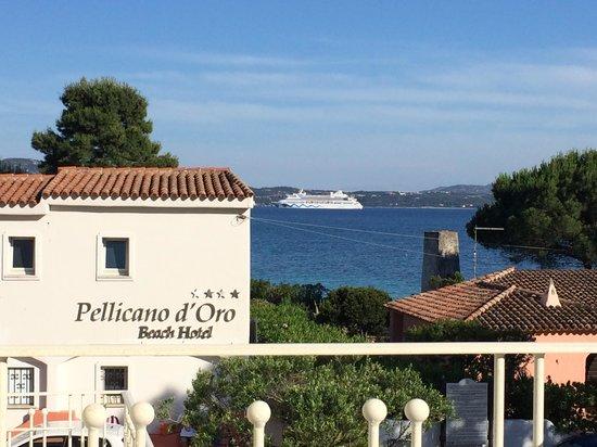 The Pelican Beach Resort & Spa - Adults Only : Vue de notre chambre type 20 standard