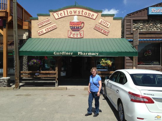 Yellowstone Perk: Great spresso & Ice Cream!