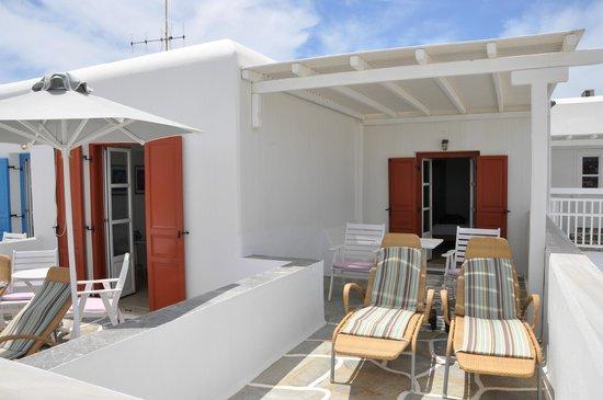 Petasos Town Hotel: Nossa varanda