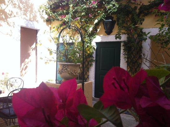 Palacio Ramalhete: Terrasse