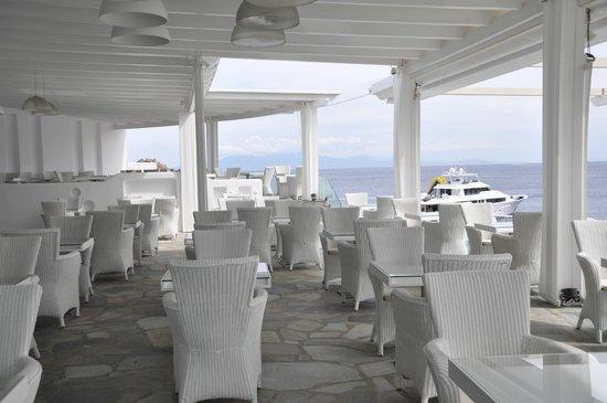Petasos Town Hotel: Restaurante