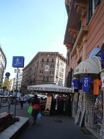 Rome ApartHotel : Alrededores