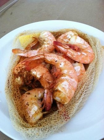 Woody's Crab House: 1/2 lb steamed shrimp