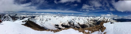The Twin Lakes Inn: View on top of Mt Elbert