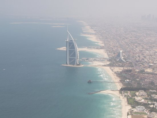 The Burj Al Arab Picture Of Fly High Dubai Helicopter