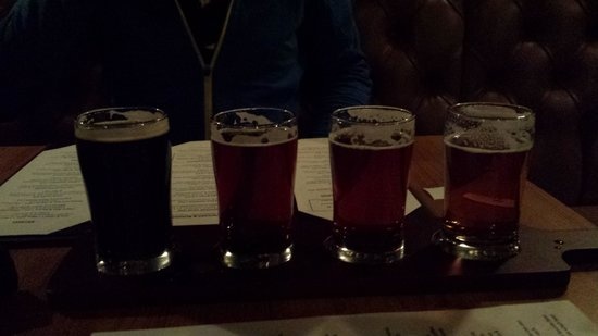 The Noble Pig Brewhouse : The beer taster is a MUST! :)