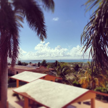 The Fajardo Inn: view from our balcony
