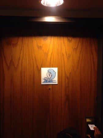 Holiday Inn Express Sea World: My door