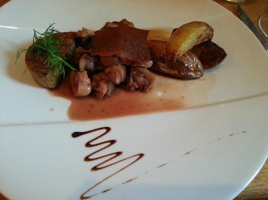 Restaurant Les Saveurs : Rognon de veau