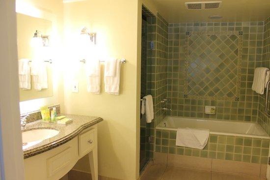 Edgewater Beach Hotel: Bathroom