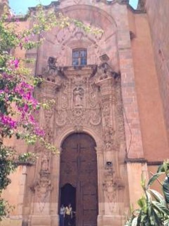 Casa Estrella de la Valenciana: baroque architecture