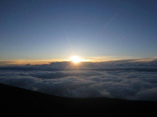 Haleakala National Park: Sunset on Haleakala