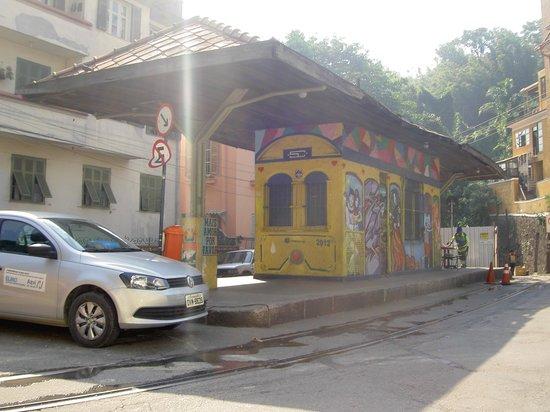 Santa Teresa : Estação do Curvelo (bondinho)