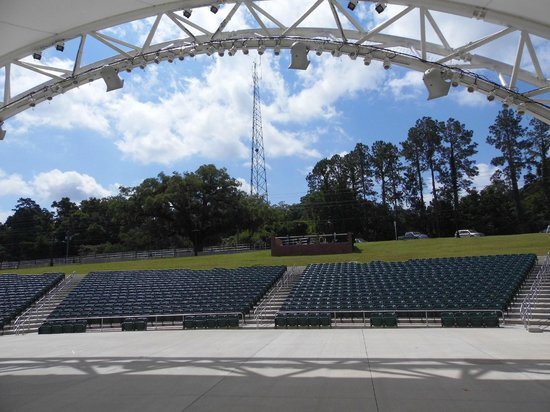 Cascades Park: View from the stage