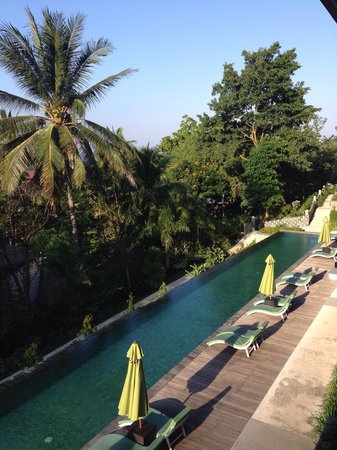 Kebun Villas & Resort: View from room second story