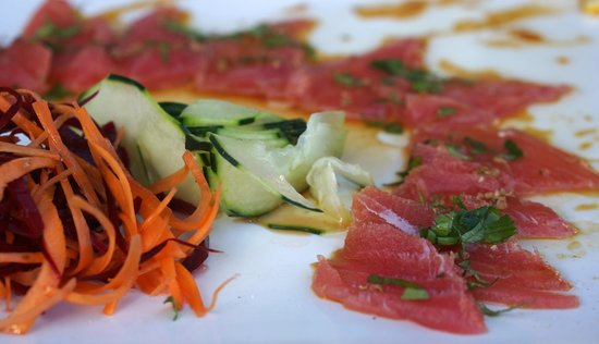 Sur Steakhouse: Tuna Sashimi