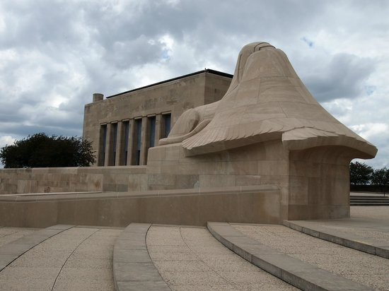 National World War I Museum and Memorial : One of the two sphinxes.