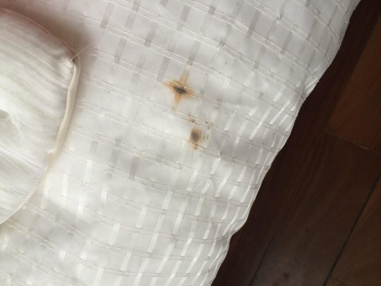 Issimo Suites Boutique Hotel and Spa : Dirty sheets