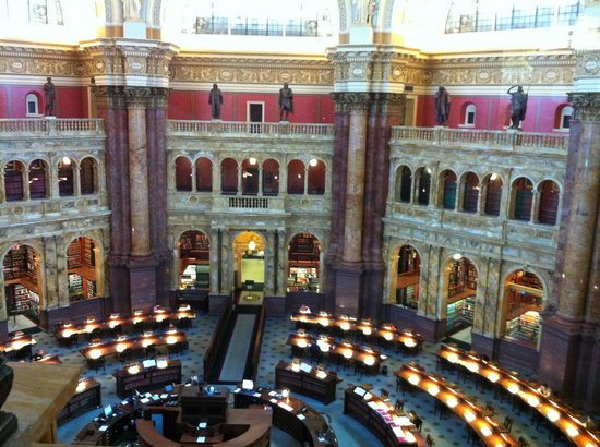 Library of Congress: Biblioteca do Congresso (Washington DC)