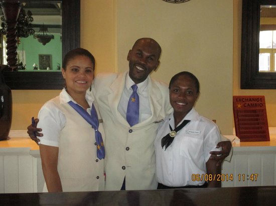 Iberostar Grand Hotel Rose Hall: Joely/Schewa/Pauline