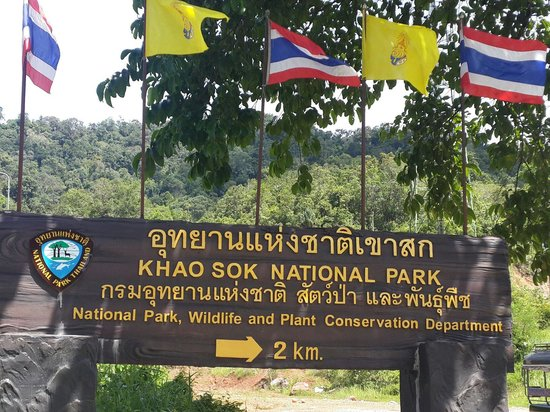 Our Jungle House : Signage on the highway