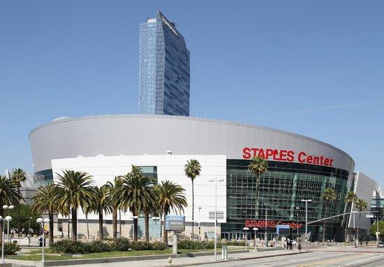 Staples Center: NBA regular game