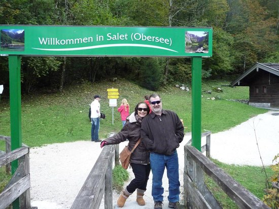Königssee: At the end of the lake