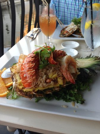 Asia Bay Sushi Bar & Thai: Seafood Fried Rice Special