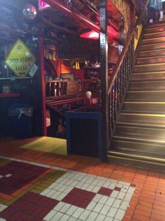 Fanny Ann's Saloon: Downstairs