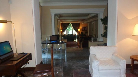 Hotel Francia e Quirinale: Um dos vários locais para o hóspede descansar
