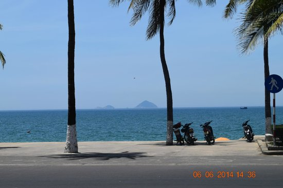 Nha Trang Lodge : View from room