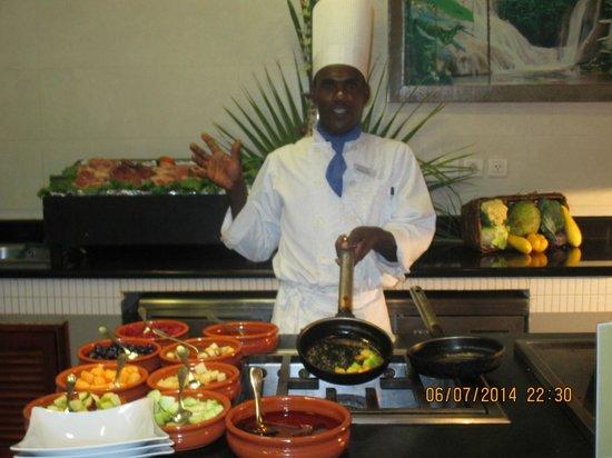 Iberostar Grand Hotel Rose Hall : Grilling